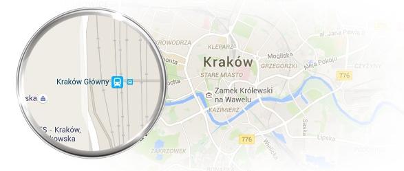 interaktywna mapa strony www