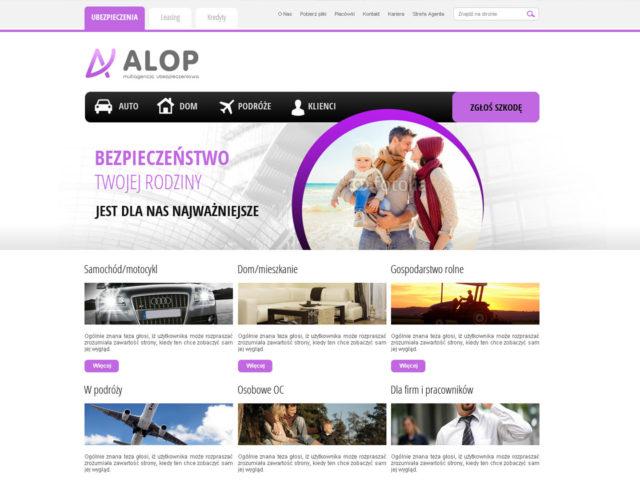 agencja alop mielec strona www