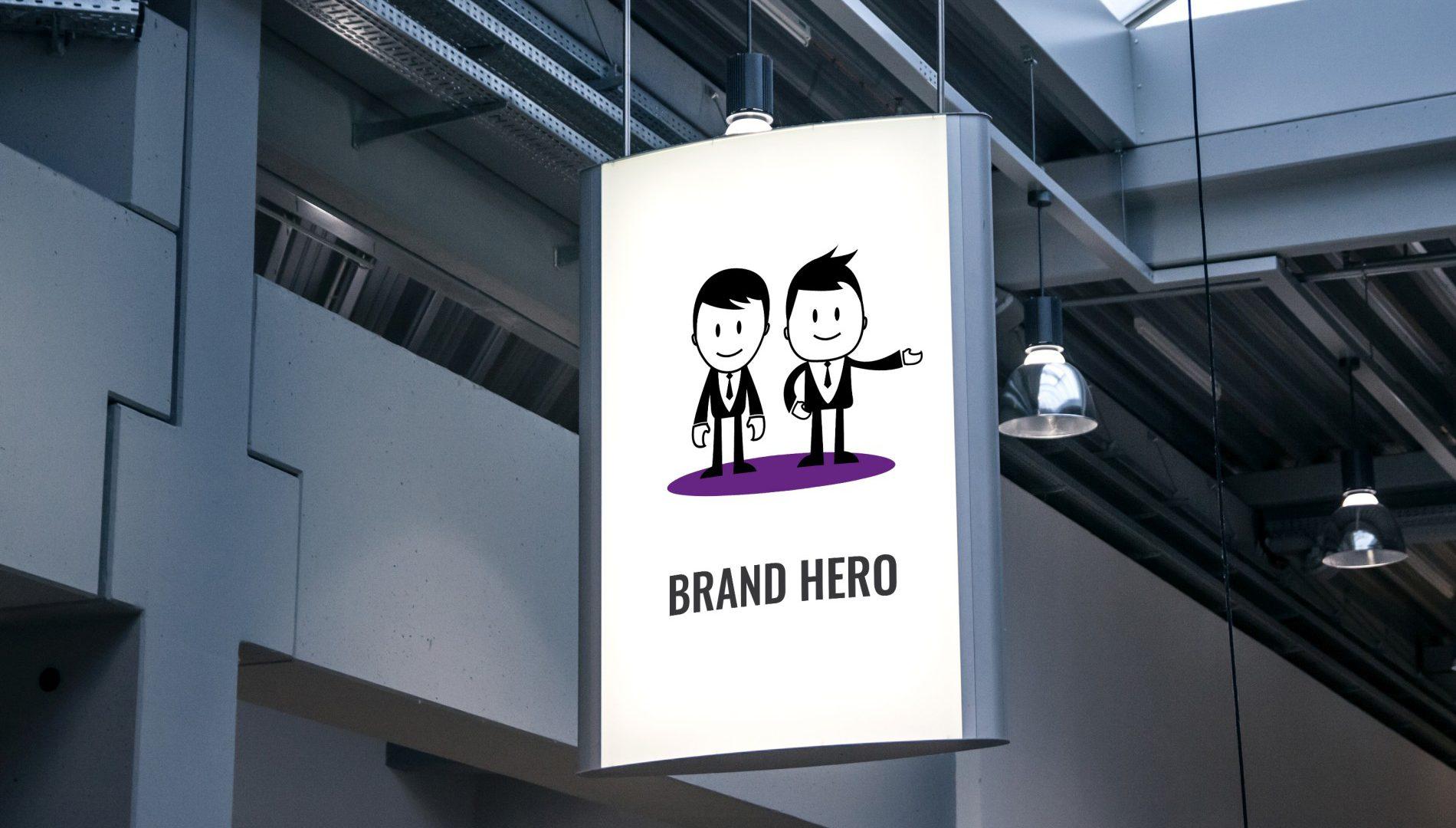 chlopaki z agencji reklamowej brand hero
