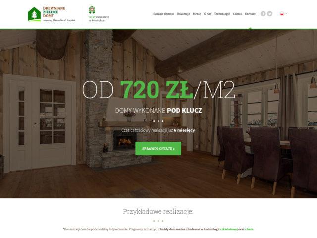 drewniane zielone domy jaroslaw strona www