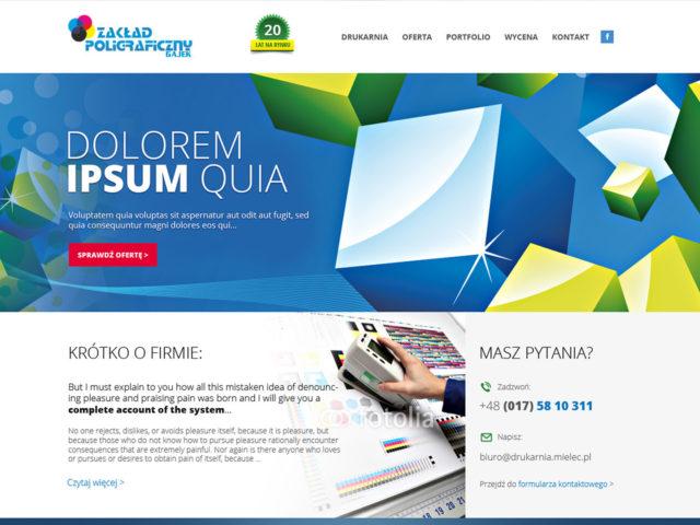 drukarnia gajek mielec strona www