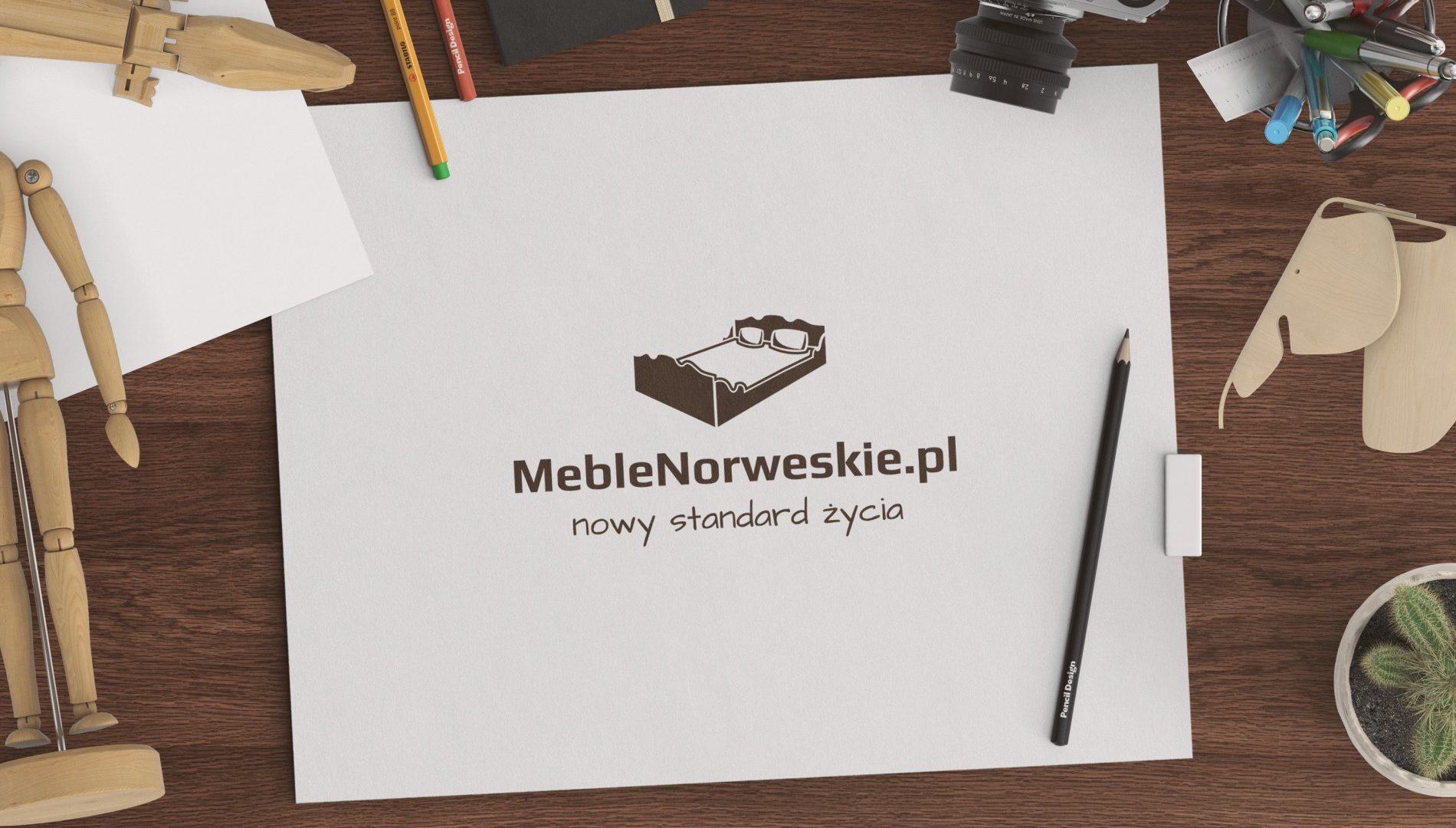 meble drewniane norweskie logo