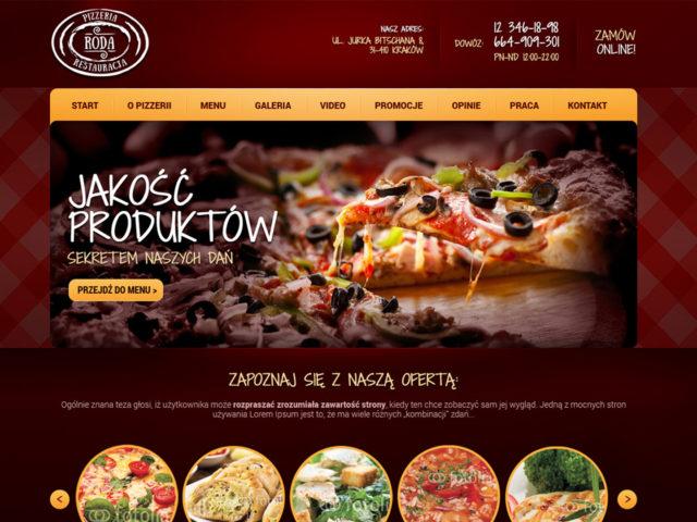 pizzeria roda strona internetowa