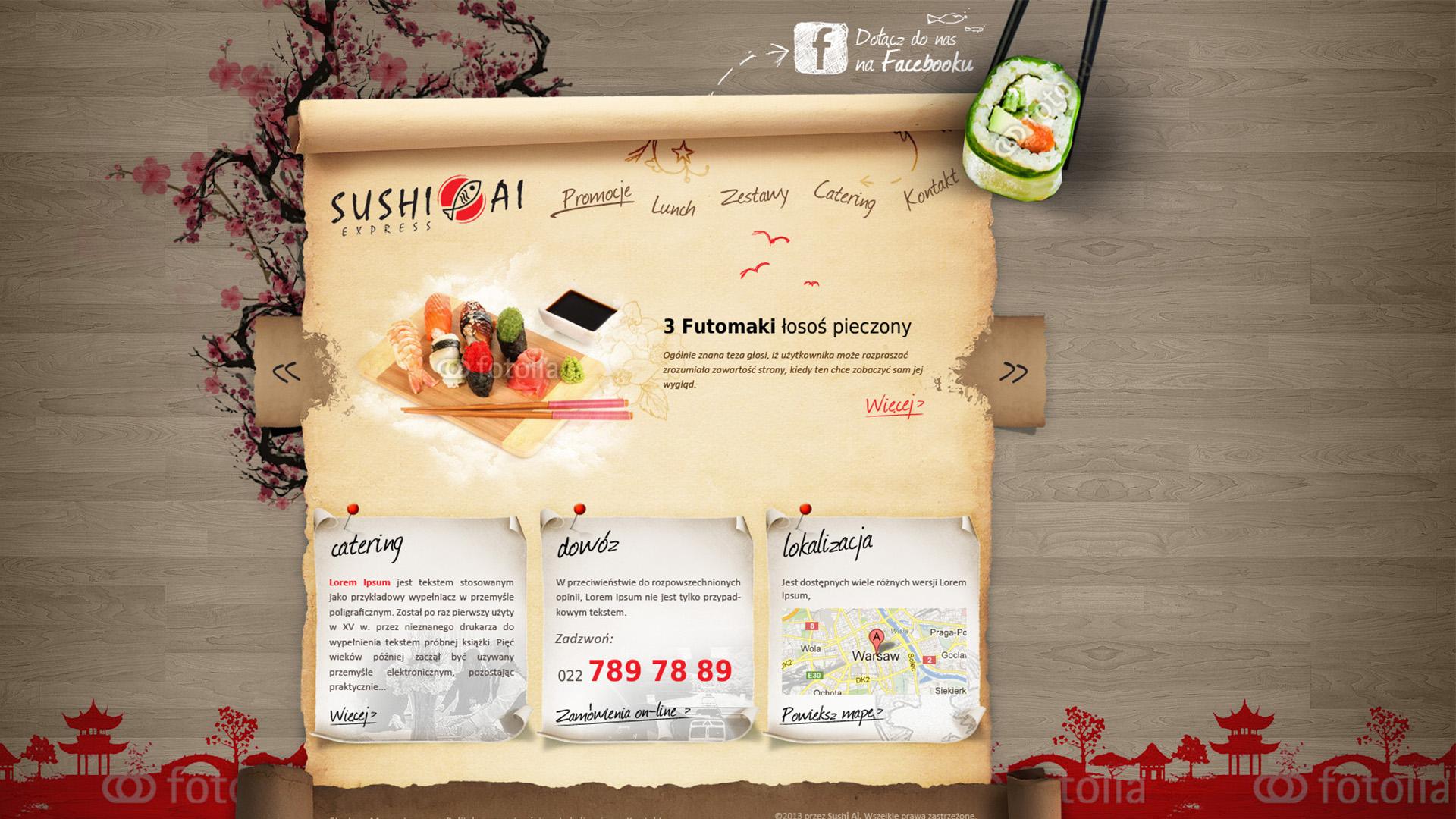 sushi krakow strona www